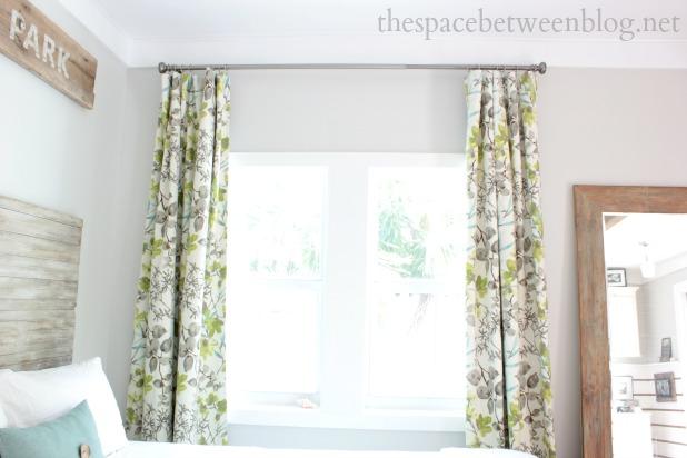 Back Tab Curtains Diy.Diy Hidden Tab Drapes Spring One Room ...