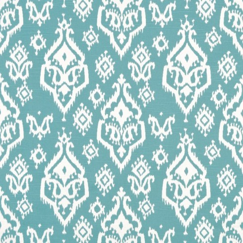 Premier Prints Raji Spirit Blue Slub Fabric