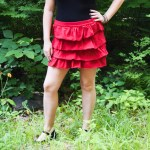 DIY Tiered Ruffle Skirt Tutorial