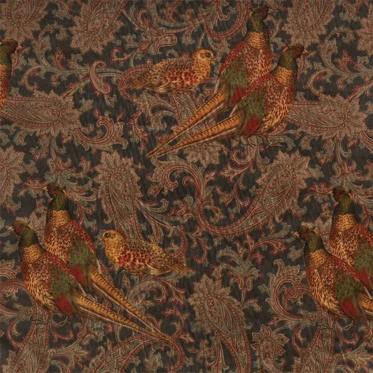 Animal Print Wallpaper For Bedrooms Ralph Lauren Hunting Manor Paisley Sable Fabric