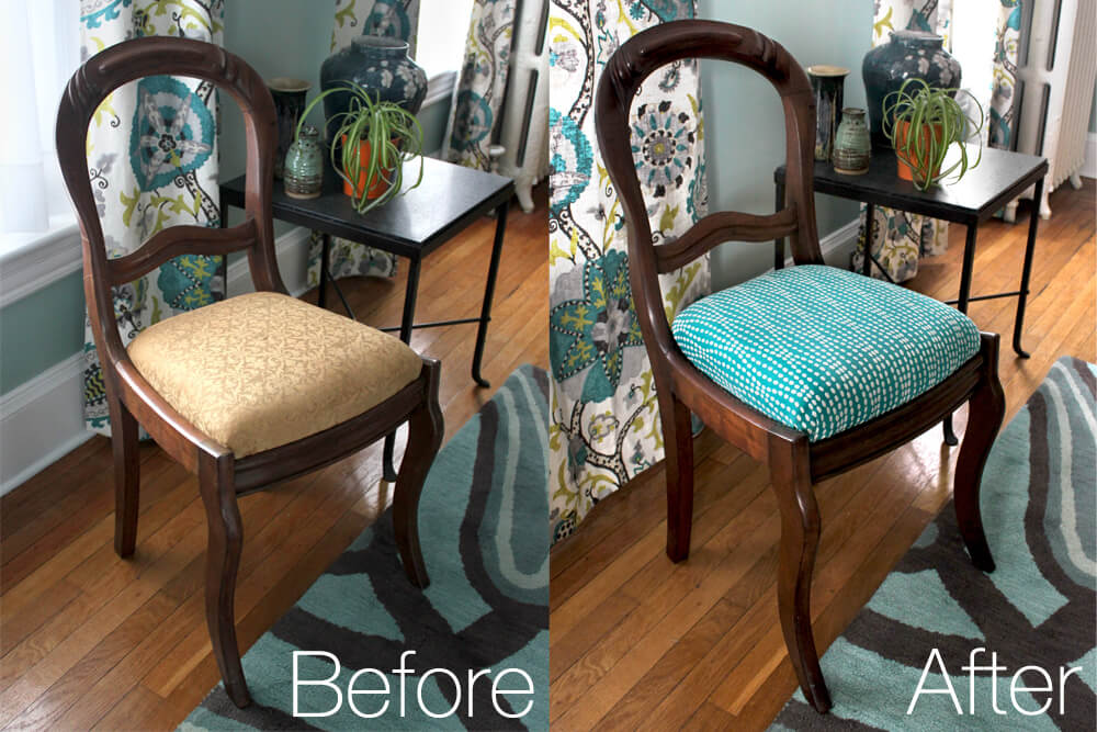 reupholster dining chairs kohls beach how to ofs maker s mill diy tutorial