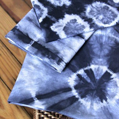 How To Dye Fabric Shibori Tie Dye With Rubber Bands OFS
