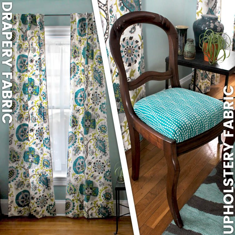best fabrics for chairs wrought iron outdoor drapery fabric vs upholstery ofs maker s mill
