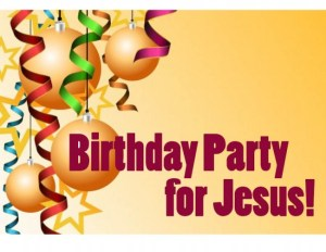 Happy Birthday Jesus Party for Children (Game)
