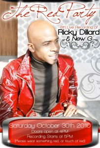 Ricky Dillard To Record Live Album In Detroit Concert