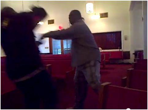New Salem Missionary Baptist Church Fight? (Video)