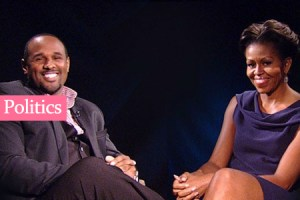 Video: First Lady Michelle Obama's Interview with Cory Condrey on BET's Lift Every Voice