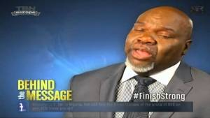Bishop T.D. Jakes – Finish Strong: Sit On Me (Video)