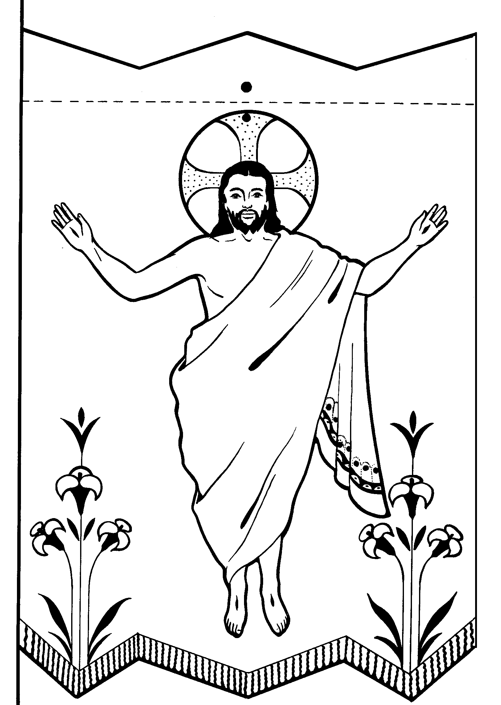 Jesus Tree: Symbols, Bible Readings and Colouring Pages