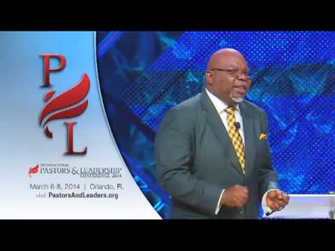 2014 International Pastors and Leadership Conference – Bishop T.D. Jakes (Video)