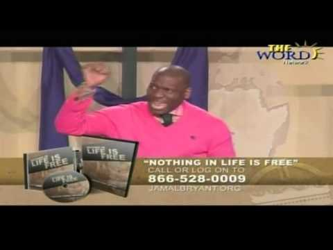Dr. Jamal Bryant – Nothing In Life Is Free (Video)