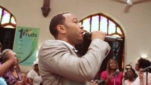 John Legend Suprises West Philly Church – How I Got Over (Live)