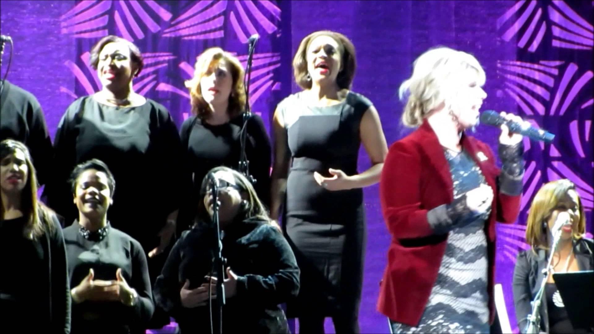 2014 Superbowl Gospel Celebration – Natalie Grant Breathe on Me/ I Need Thee