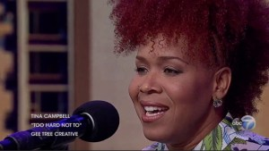 """Tina Campbell on Chicago's """"Windy City Live"""""""