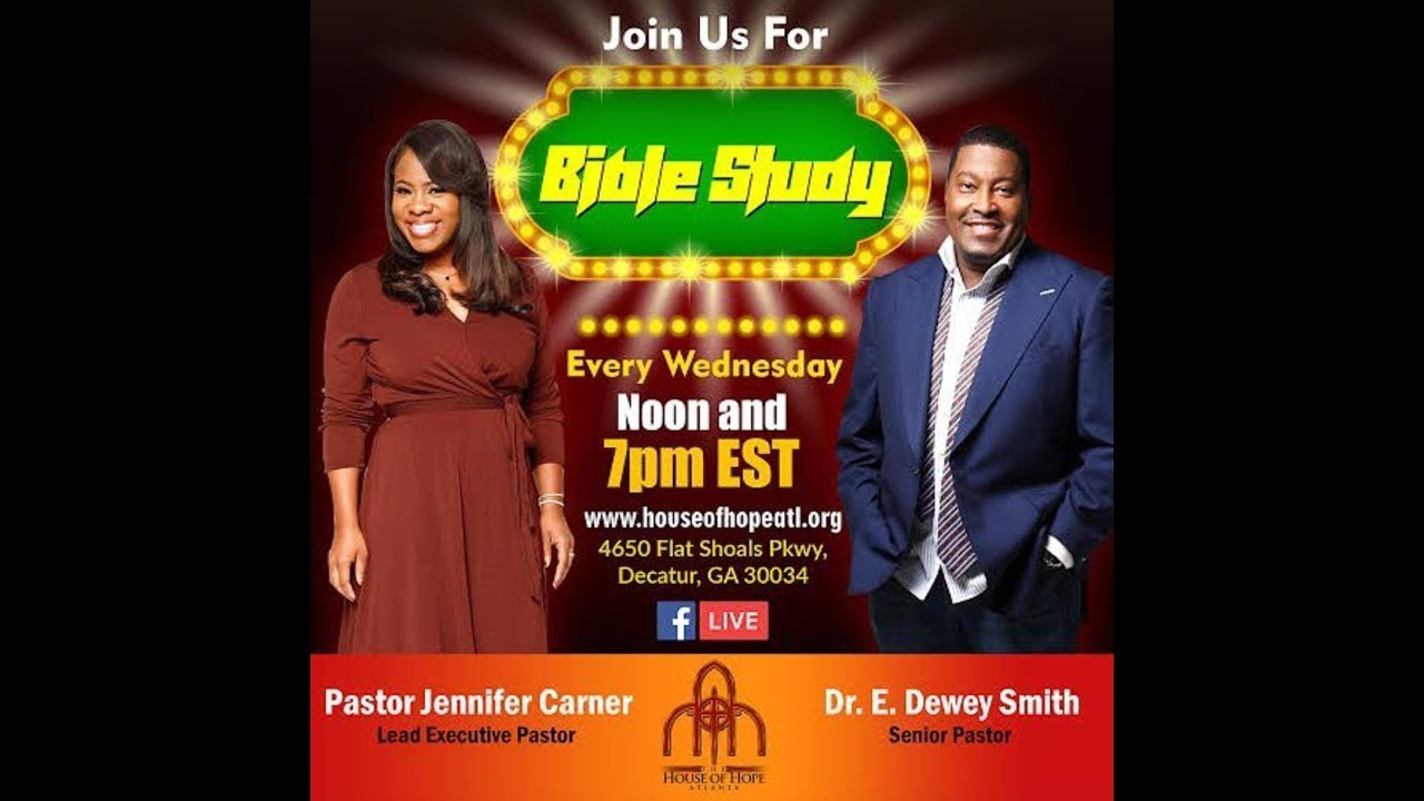 Bible Study w/ Pastor Jennifer Carner 10/11/17 12pm