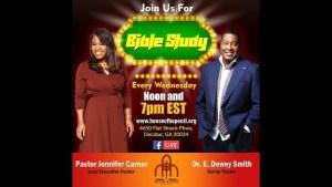 Bible Study w/ Pastor Jennifer Carner 07/11/18 12pm
