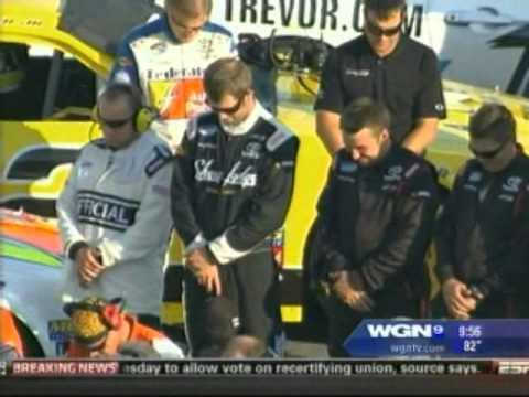 Pastor Joe Nelms Federated Auto Parts 300 Nationwide Series Race Prayer (Video)