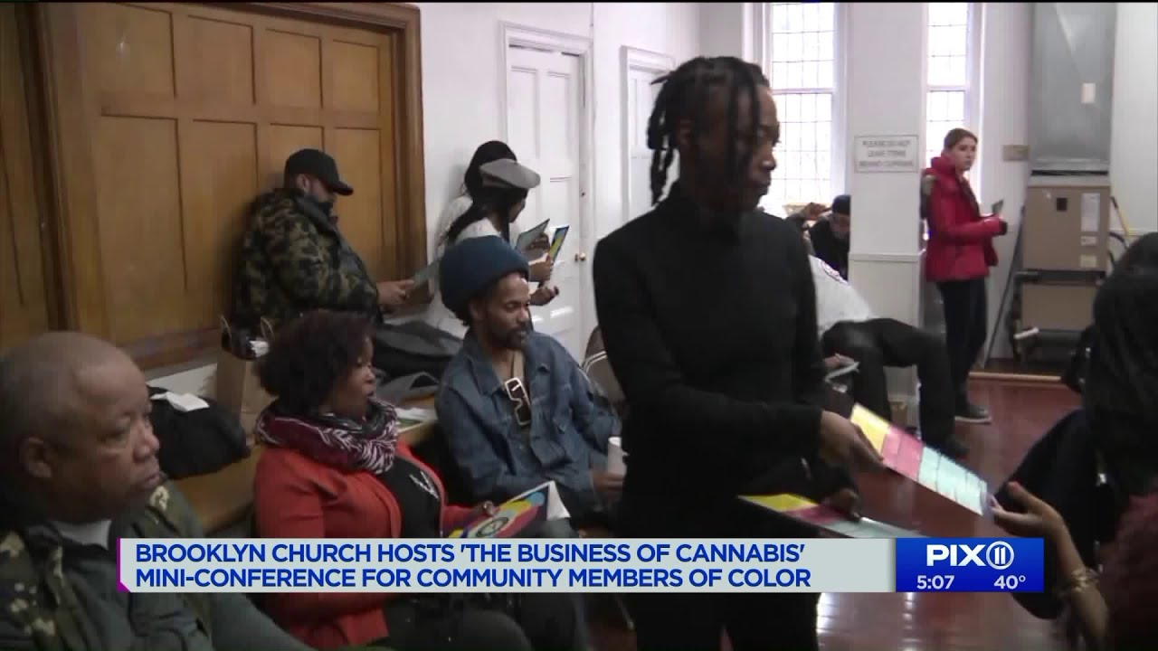 Cannabis conference at Brooklyn church aims to diversify industry