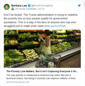 The Trump administration is trying to redefine the poverty line so less people qualify for government assistance