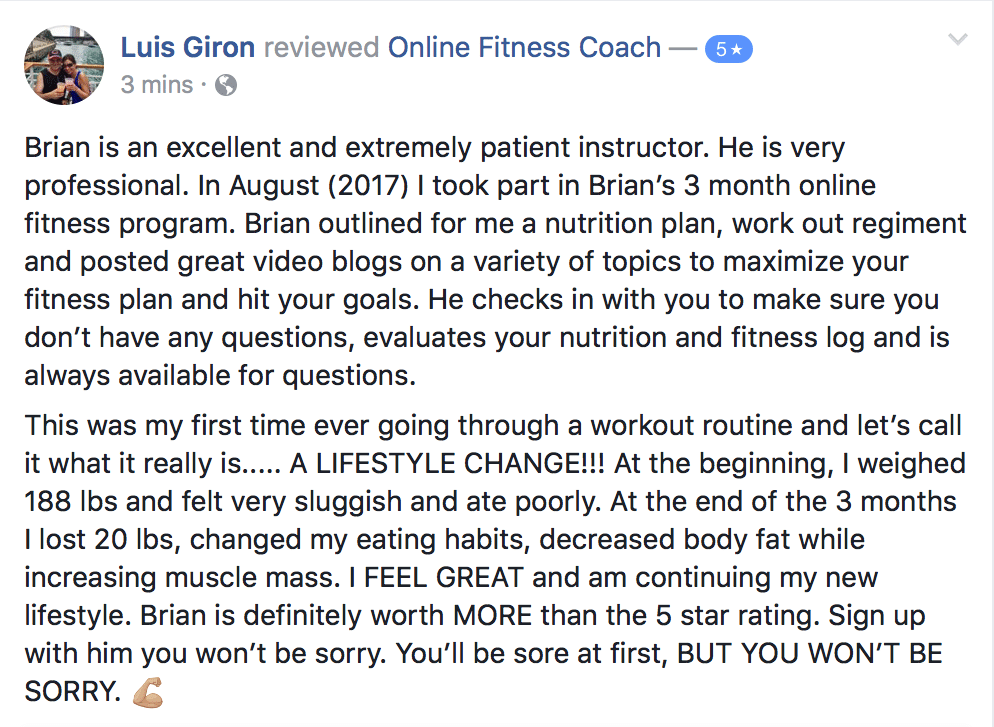 Online Fitness Coach