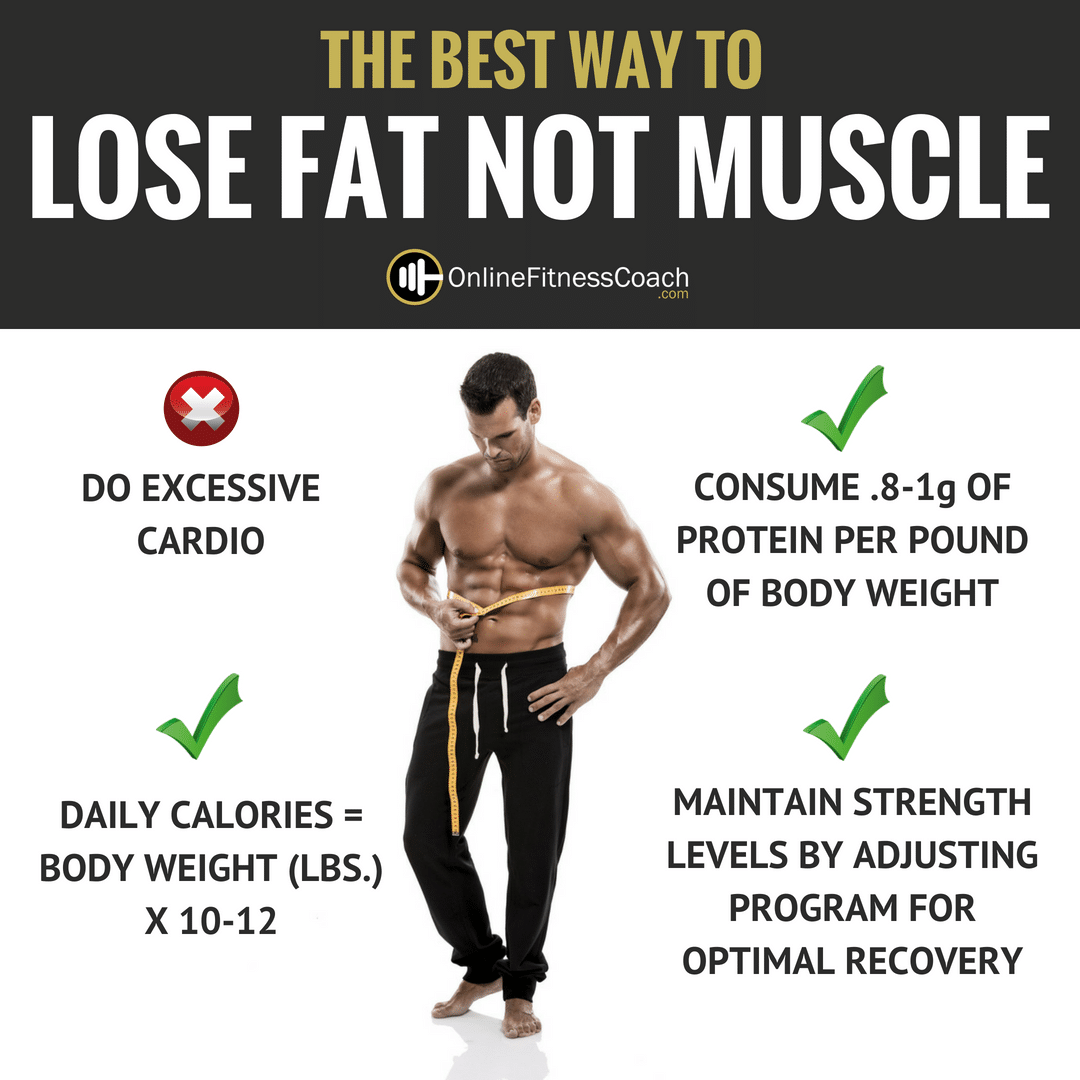 LOSE FAT NOT MUSCLE