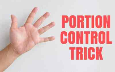 Use Your Hand For Portion Control