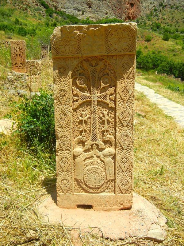 Noravank, Armenia, Khachkar