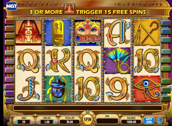 Cleopatra Slot Review Online Gambling Bible