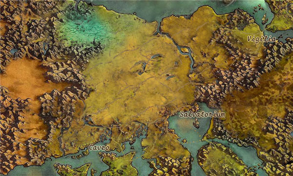 Black Desert Online Full Map