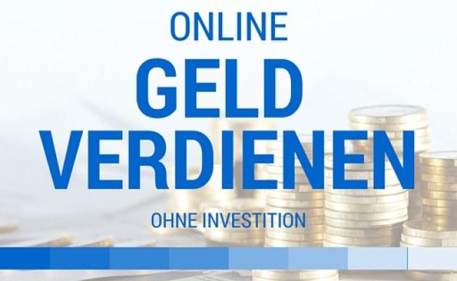 online geld verdienen 2021 ohne investition forex brokers