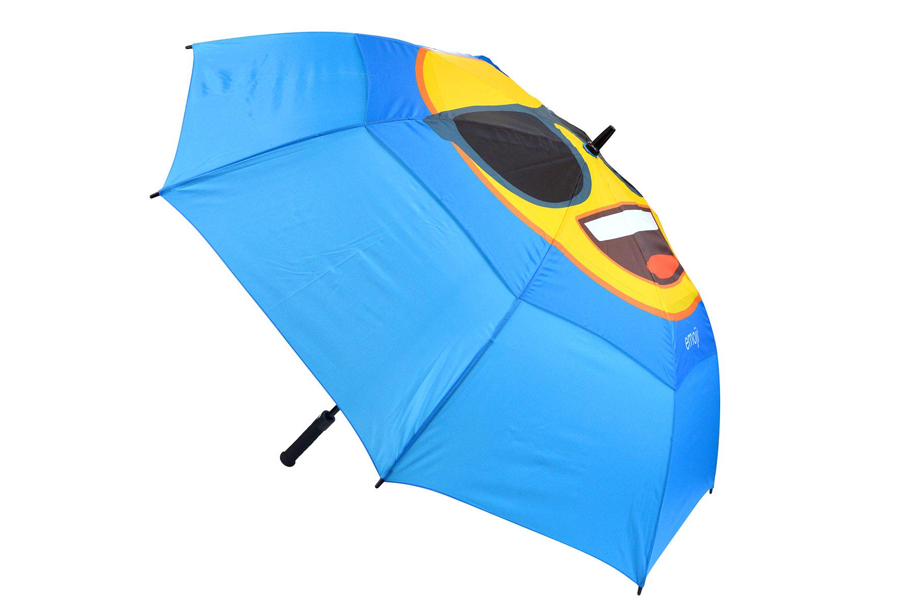 emoji Cool Face Double Canopy Umbrella