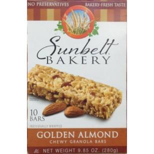 Sunbelt Bakerys GOLDEN ALMOND Chewy Granola Bars 10 Count