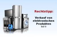 Verkauf von Elektro- und Elektronikprodukten Teil 9 ...