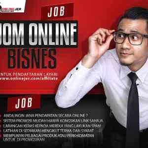 Jom Online Bisnes Poster-JOB