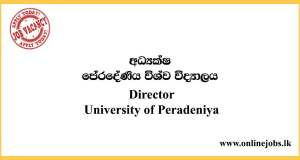 Director - University of Peradeniya
