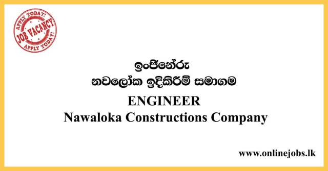 ENGINEER-Nawaloka-Constructions-Company