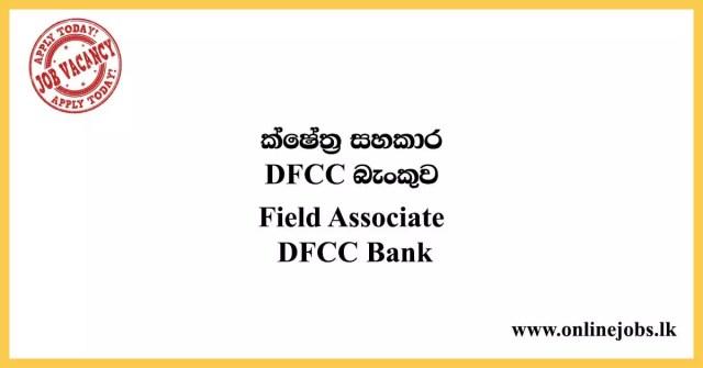 Field Associate DFCC Bank