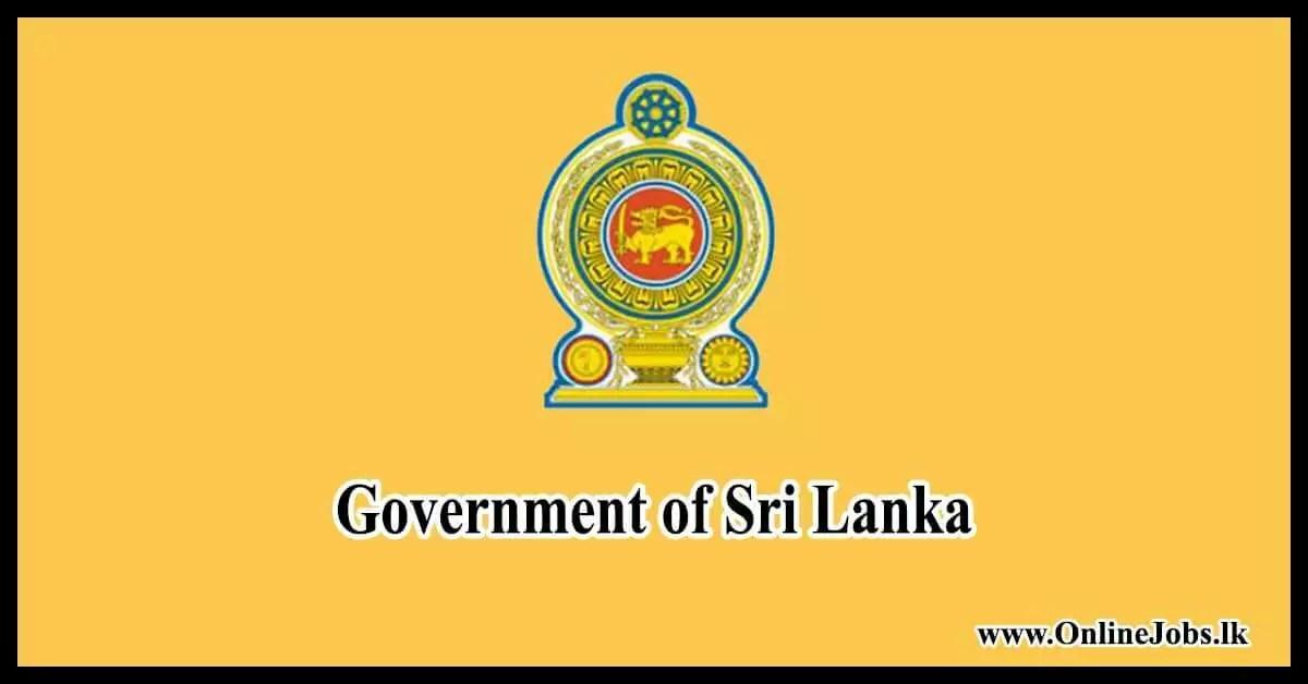 Government of Sri Lanka - Welcome www.gov.lk