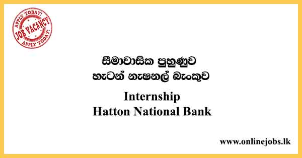 Internship-Hatton National Bank