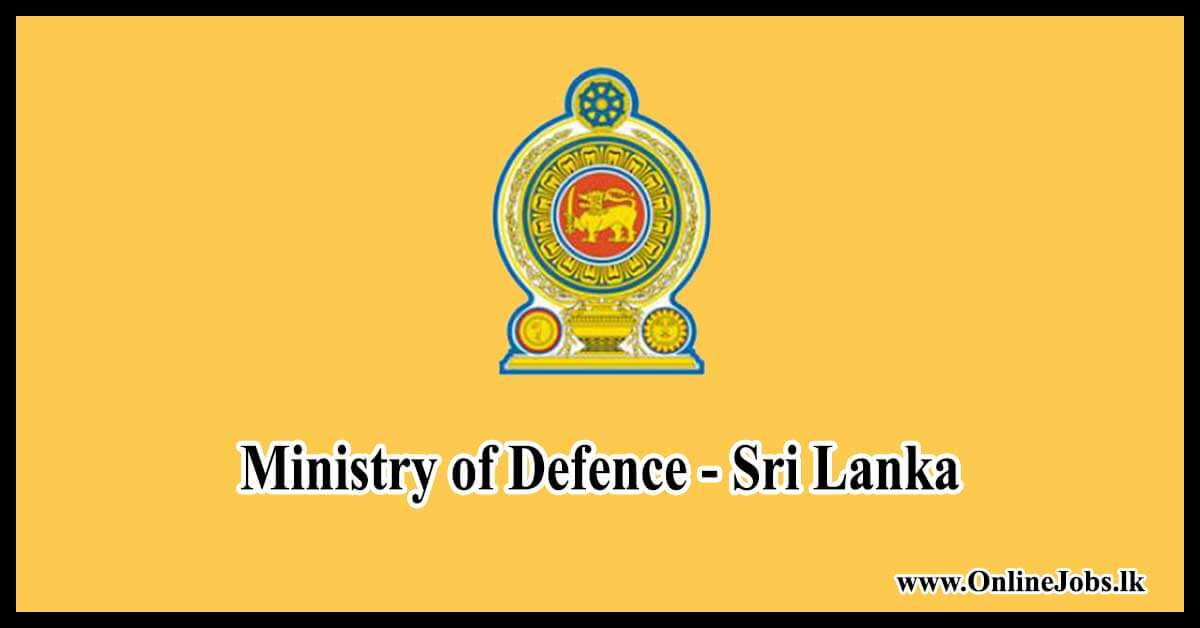 Ministry of Defence - Sri Lanka