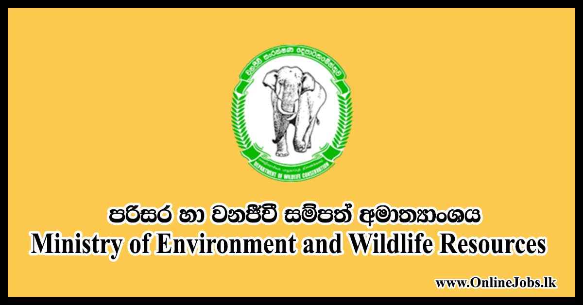 Ministry of Environment and Wildlife Resources