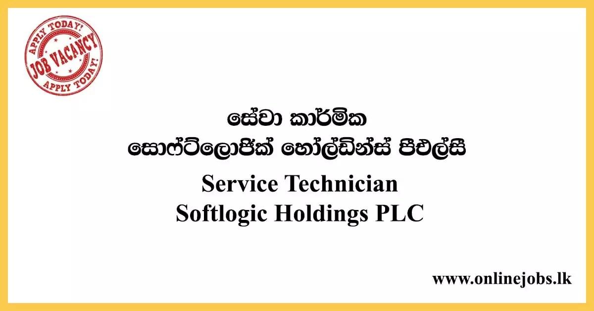 Service Technician - Softlogic Holdings PLC