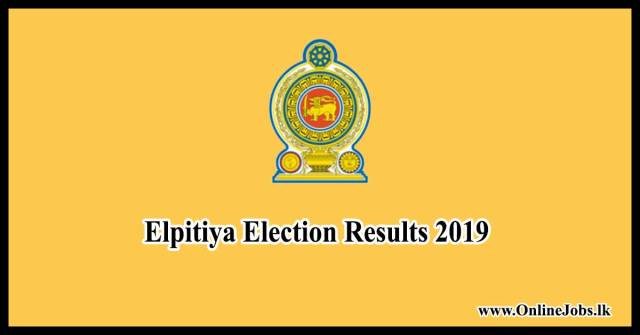 elpitiya election result