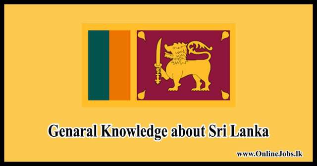 Genaral Knowledge about Sri Lanka