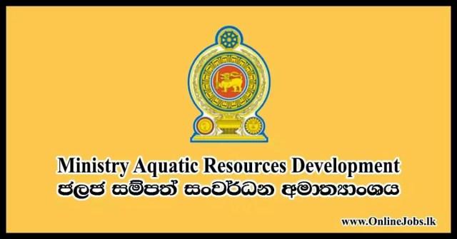 Fisheries & Aquatic Resources Development