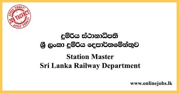 Station Master - Sri Lanka Railway Department