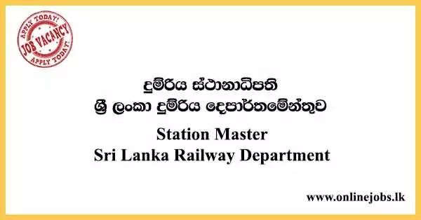Station Master - Sri Lanka Railway Department
