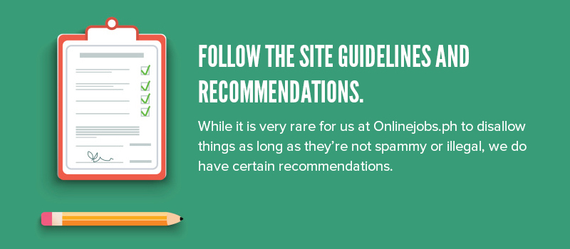 03-Follow the site guidelines and recommendations-v2