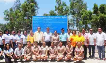 BANGKOK AIRWAYS CSR : CLASSROOM BUILDING OF WATBUNDARIKKARAM SCHOOL