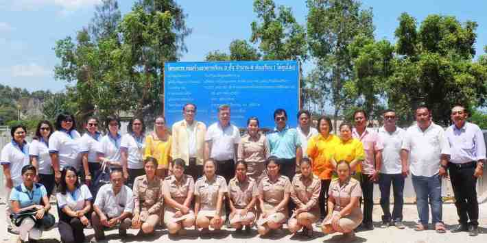 BANGKOK AIRWAYS CSR : CLASSROOM BUILDING OF WATBUNDARIKKARAM SCHOOL